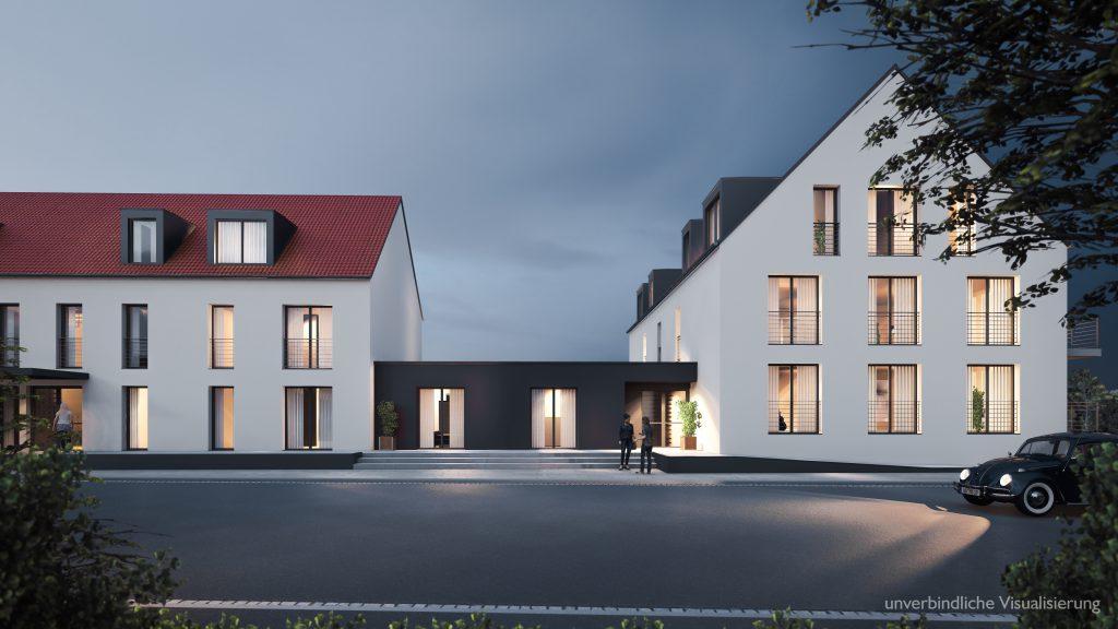 Neubau Und Verkauf Von 13 Modernen Eigentumswohnungen Im Herzen Von